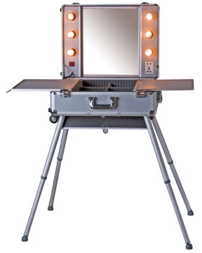 Rent Portable Make Up Station For Fashion Photo Studio And Location Photo  Shoots