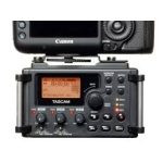 Tascam DR60 on DSLR