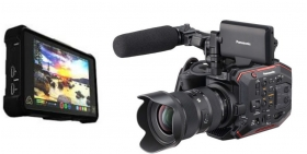 Panasonic EVA1 With Atomos Inferno