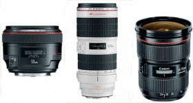 Wedding Canon lenses