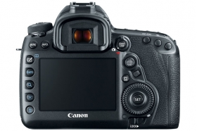 Canon 5d mark iv rear