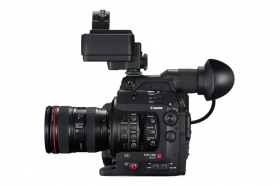 Canon C300 mark II with Lens