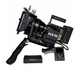 red scarlet camera package