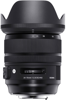 Sigma 24-70 Art Lens